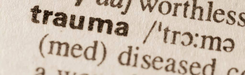Writings with the word trauma