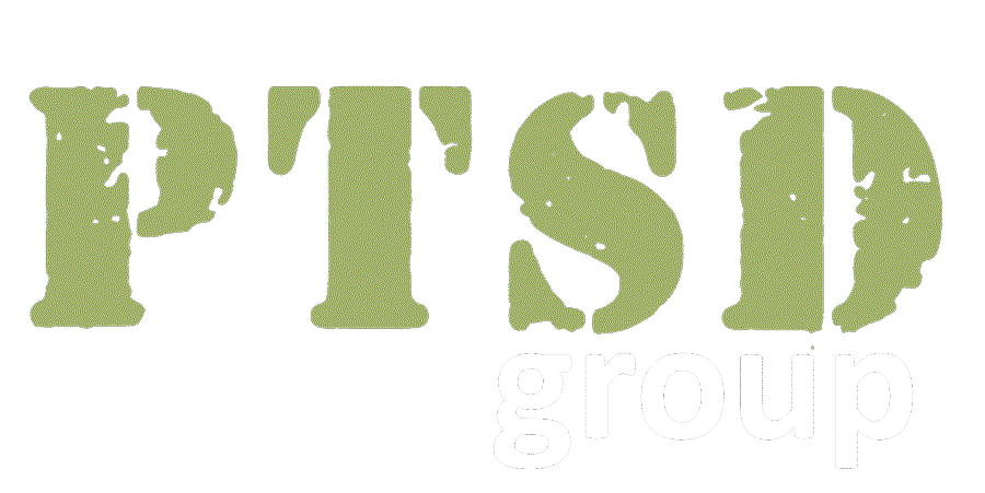 PTSD Group Logo white