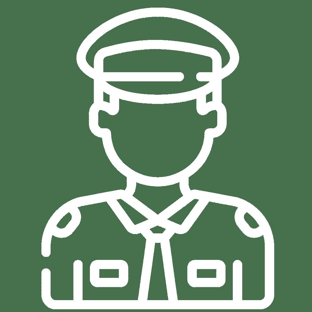icon police man